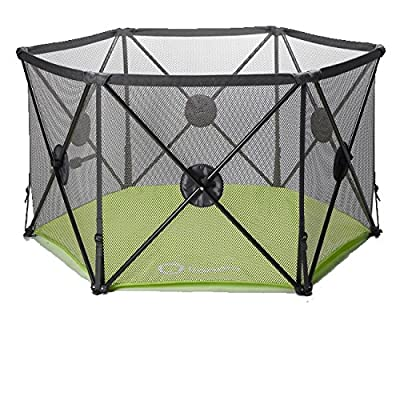 Callowesse Pop Up and Play Secure Easy Fold Playpen  MUMUJIN