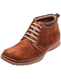 FBT Men's 8024 Camel Casual Leather Shoes