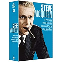 Collection Steve McQueen (I) -4 Films : La Grande évasion + Les Sept mercenaires + l'affaire Thomas Crown + La canonnière du Yang-Tsé