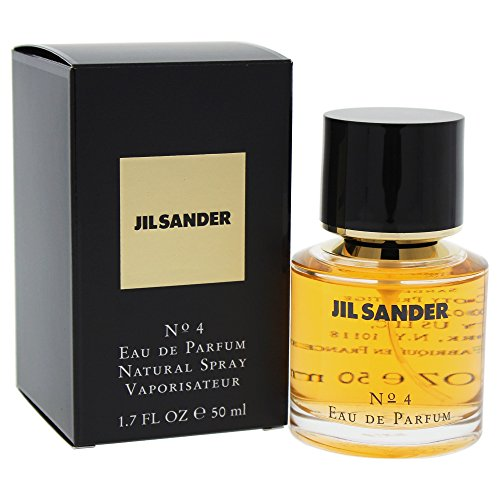 JIL SANDER JIL SANDER - JIL SANDER Nº4 Eau de Parfüm mit Zerstäuber 50 ml - Damen, 1er Pack (1 x 50 ml)