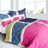 Best Sets Croscill Couette - [Nice TAMOUL] matelassé patchwork Duvet Alternative Couette, Microfibre Review