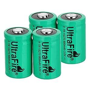 Pile cr2 rechargeable tr15270 3v 800mah ultrafire - Pile cr2 3v ...