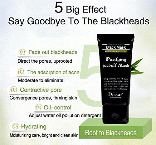 Mascarilla negra de carbón activado para una purificación facial y remoción de puntos negros -Essy Beauty 120g