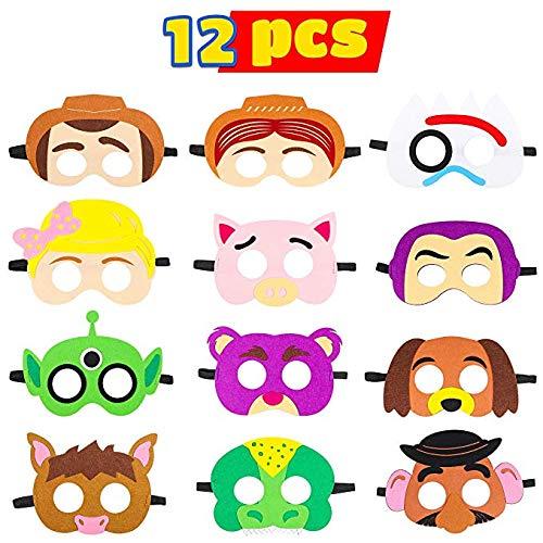Toy Story Dress Up Kostüm - BeYumi Toy 4th Masken Geburtstag Party Supplies Toys 4th Abenteuer Party Favors Dress Up Kostüm Maske für Kinder