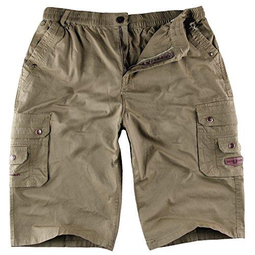 AnyuA Bermudas Ocasionales Hombres Pantalones Cortos Leisure Casual AfQhy4ol0