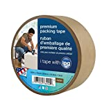 Intertape 8927693411,88In. x 60yds Kraft papel Flatback Carton cinta de sellado, Natural