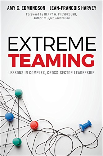 Extreme Teaming: Lessons in Complex, Cross-Sector Leadership (Amy Jean)