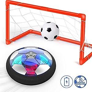 Ucradle Air Power Fußball Set Inkl. 2 Tore - 2019 Wiederaufladbar Hover Ball...
