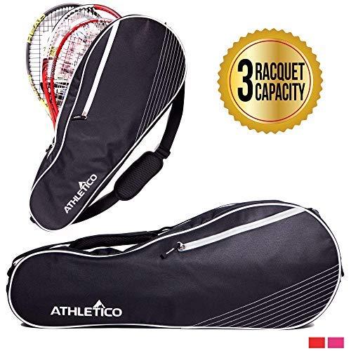 Athletico - Bolsa Tenis Acolchada Proteger Raquetas