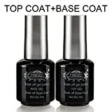 Base Top Coat Vernis Gel - Perfect Summer Soak Off UV LED Vernis à Ongles Gel Semi...