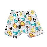 Covermason Bebé Unisex Niños Niñas Multicolor Impresión Pantalones Cortos (12M, F)