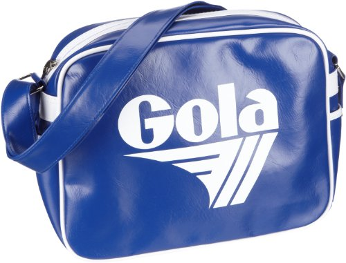 Gola Redford CUB901, Unisex - Erwachsene Henkeltaschen, 36x27x12 cm (B x H x T) Blau/Reflex Blue/White