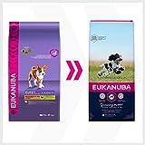 Eukanuba Puppy Medium Breed Trockenfutter (für Welpen mittlerer Hunderassen, Premiumnahrung mit Huhn), 15 kg Beutel - 8