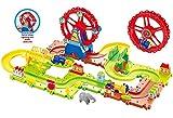 #7: Webby Funny Ferris Wheel 03 Train Set, Multi Color