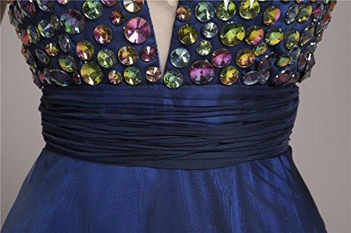 Beauty-Emily -  Vestito  - linea ad a - Senza maniche  - Donna Violett