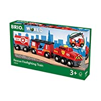 BRIO World Fire & Rescue - Rescue Fire Train