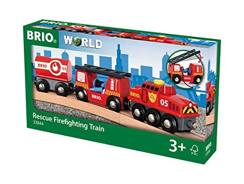 BRIO World  - 33844 - TRAIN DES POMPIERS