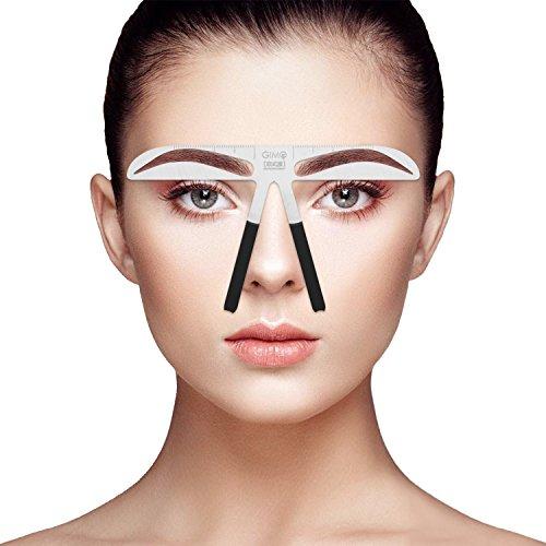 Professionelle Augenbrauen-Schablonier-Machthaber für die Augenbrauen, die dauerhaften Verfassungs-Werkzeuge messen (5) (Make-up-tools Kit)