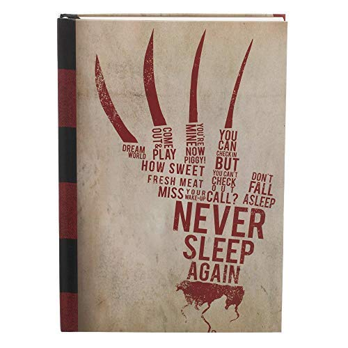NIGHTMARE ON ELM STREET HARDCOVER JOURNAL - NIGHTMARE ON ELM STREET HARDCOVER JOURNAL (1 BOOKS)