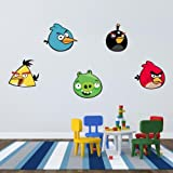 Wandtattoos a colori ''Angry Birds'' Vinyl Wall Stickers Decals