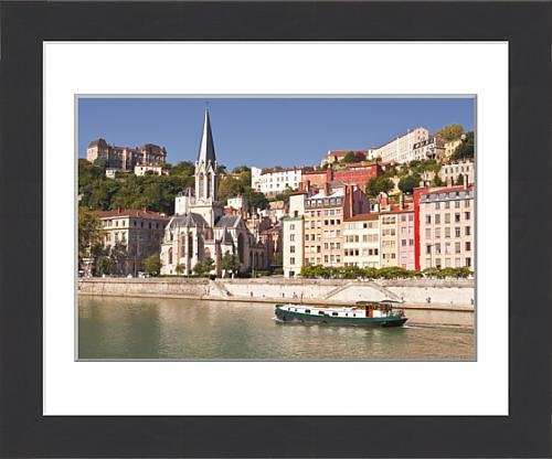 framed-print-of-eglise-saint-george-and-vieux-lyon-on-the-banks-of-the-river-saone-lyon