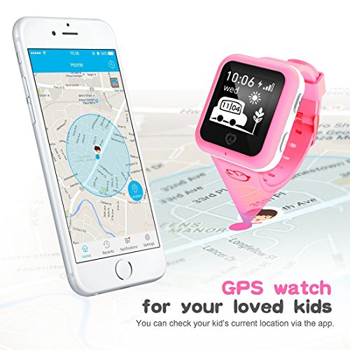 Misafes Smart Kid Watcher GPS Tracker digitale Uhr Security Monitor  Abbildung 3