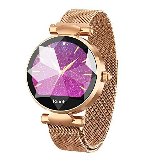 25d50ecfa41c Health Smart Watch HSW B80 Pantalla táctil Reloj Inteligente Rastreador de  Ejercicios para Mujer niña -