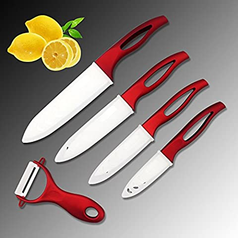rybyte (TM)–Coltelli da cucina Set di coltelli in ceramica Zirconia coltelli da cucina 3