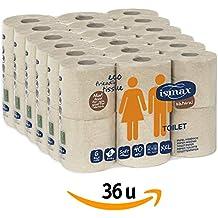 Rollos Papel Higiénico Reciclado Baño Ecologico Wc Pack 36 unidades 158 gr/uni 6 Paquetes