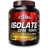 Vit-O-Best Isolate CFM 100% Proteínas, Sabor a Vainilla - 907 gr