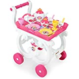 Smoby - 310555 - Disney Princess - Desserte XL - Plateau Amovible avec Chariot - + 17 Accessoires Inclus