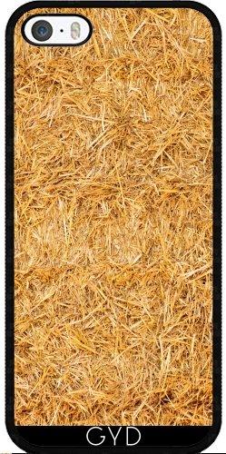 Coque pour Iphone 5/5S - Foin Pressé by Carsten Reisinger Silicone