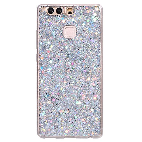 Custodia-Huawei-P9-Cover-Huawei-P9-Silicone-Glitter-SainCat-Cover-per-Huawei-P9-Custodia-Silicone-Morbido-Glitter-Bling-Shock-Absorption-Ultra-Slim-Transparent-Silicone-Brillantini-Case-Ultra-Sottile-