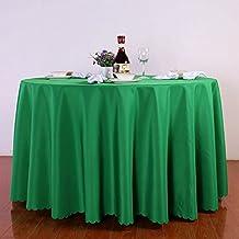 Kchenwsche Runde Tischtcher Restaurant Hotel Solid Color Couchtisch Tuch Meeting Tischdecke Lila Weiss