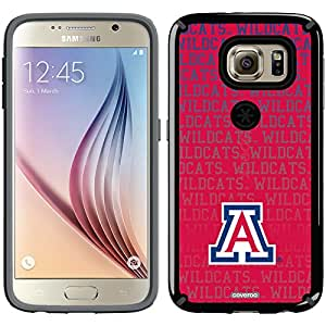 Coveroo CandyShell Case for Samsung Galaxy S6 - Retail Packaging - University of Arizona Wildcats Repeat