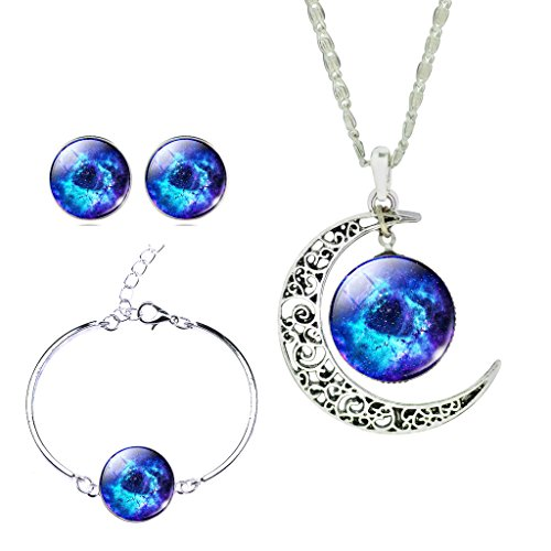 men-fancy-galaxy-outer-space-hollow-new-moon-crystal-cabochon-necklace-earrings-bracelet-jewelry-set
