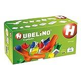 Hubelino 420411 Kugelbahn - Schwinge Ergänzung, ab 4 Jahren, 100 Prozent kompatibel mit Duplo, 46 Teile