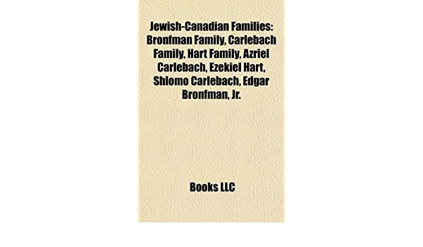 Amazon in: Buy Jewish-Canadian Families: Bronfman Family, Carlebach