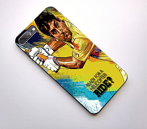 GOSMARTKART I PHONE 7 PLUS HIGH QUALITY DHONI(CHENNAI SUPER KINGS) PRINTED BACK COVER