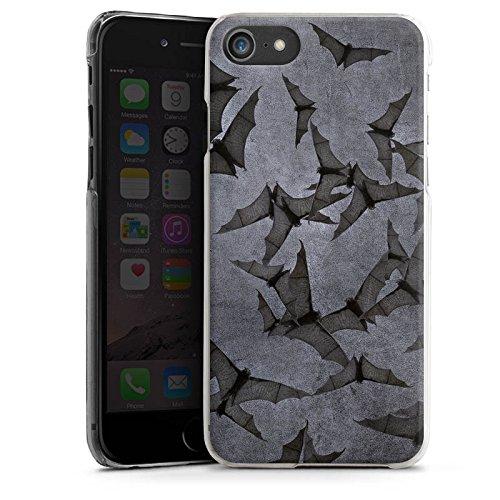 Apple iPhone 7 Hülle Premium Case Cover Fledermaus Bat Vampir Hard Case transparent