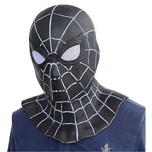 Halloween Unterhaltsame Maske Avengers Helm Spiderman Maske Superhero Kopfbedeckungen Unisex 1 Stücke Stücke Erwachsene Geschenk,Black,Onesize