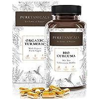 Cápsulas Cúrcuma Bío 4000 mg Dosis Altas Analizada en Laboratorios - Extracto Especia Prémium Curcumina +