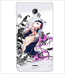 PrintDhaba Abstract Image D-4817 Back Case Cover for MICROMAX A106 UNITE 2 (Multi-Coloured)