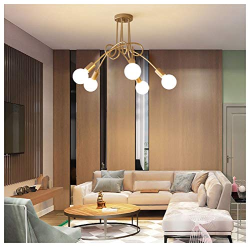DE_ZHAO Colgante de luz LED Simple y Simple Lámpara de Techo ...