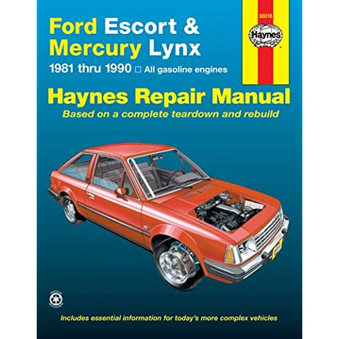 Ford Escort and Mercury Lynx Automotive Repair Manual, 1981-1990