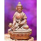 Medizin Buddha 4 cm Nepali Figur Kupfer Statue - Esoterik Zubehör günstig kaufen