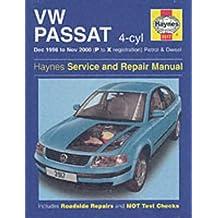 VW Passat (96-00) Service and Repair Manual (Service & repair manuals)