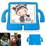 Pour Enfant pour iPad 234, y & M (TM) Dropproof Housse étui coque antichocs iPad Convertible en mousse EVA sûr Poignée souple avec béquille pour enfant de sécurité Coque de protection Tablettes PC MID étui pour iPad 2/3/4