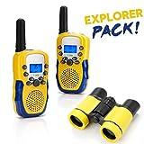 Walkie Talkies, BBLIKE Kids Walkie Talkies Toys Set 1 kids binoculars + 2