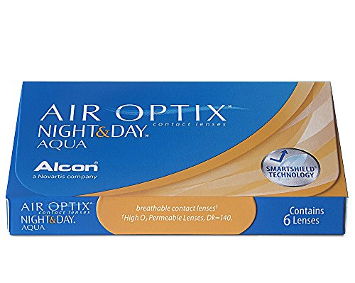 Air Optix Night & Day Aqua Monatslinsen weich, 6 Stück / BC 8.6 mm / DIA 13.8 / -5.75 Dioptrien
